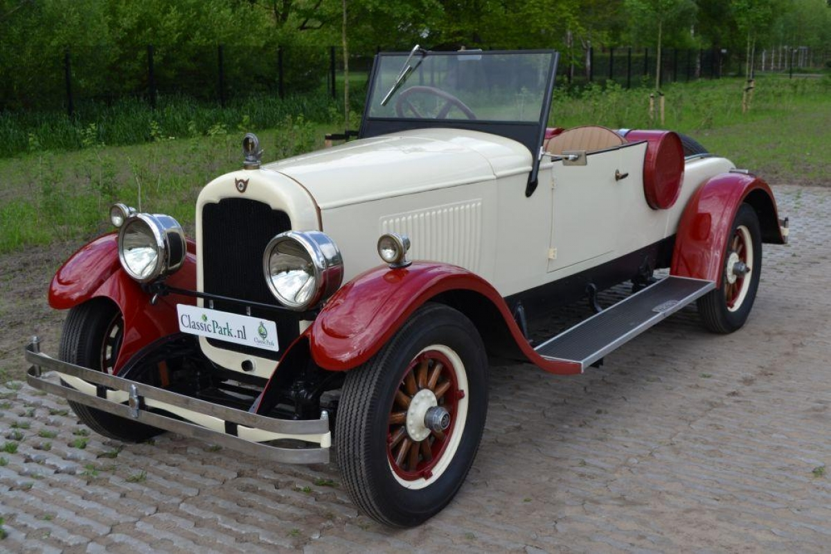 Classic Park Cars | Reo Red Flying Cloud