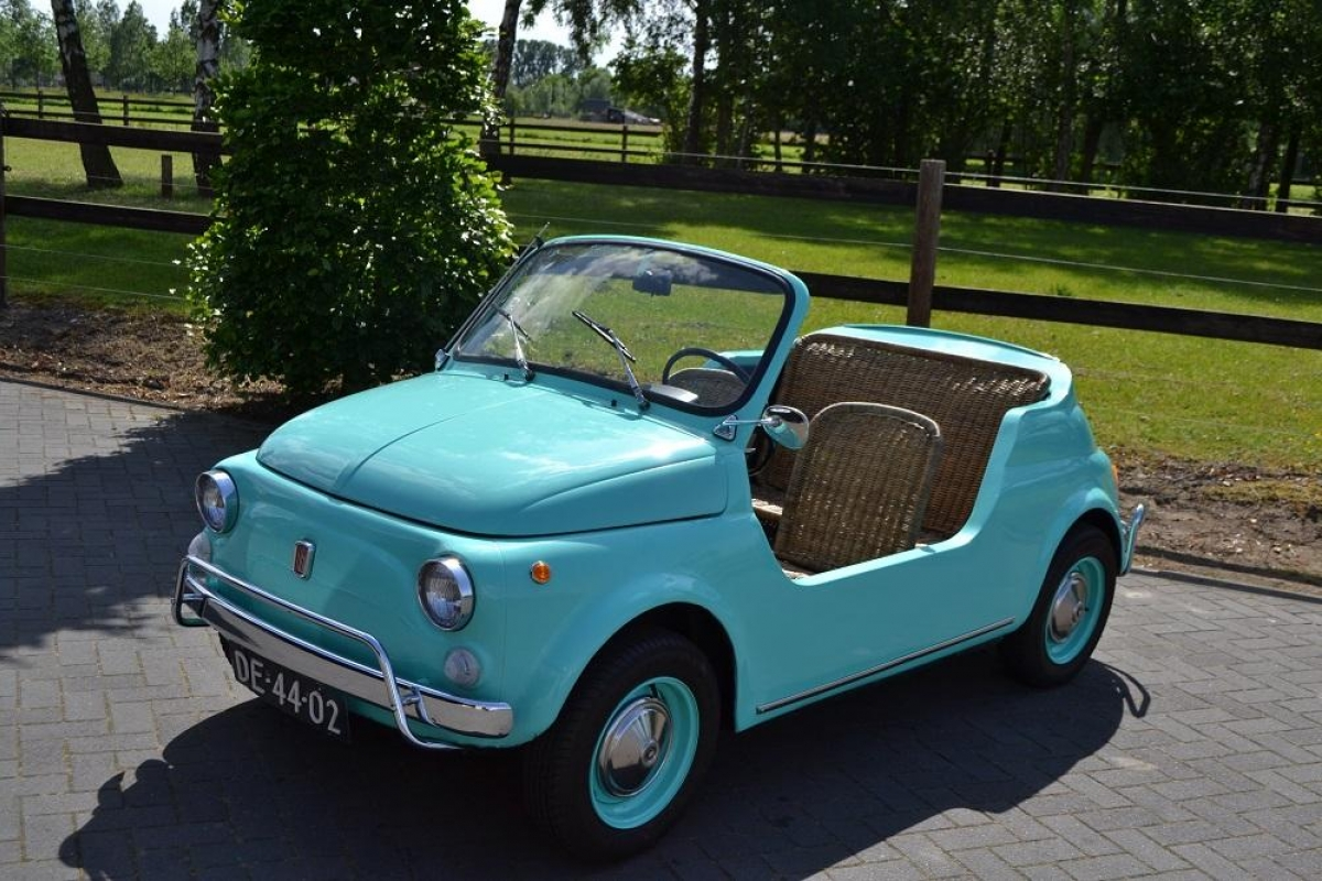 Classic Park Cars Fiat 500 Jolly Replica 1970 For Sale