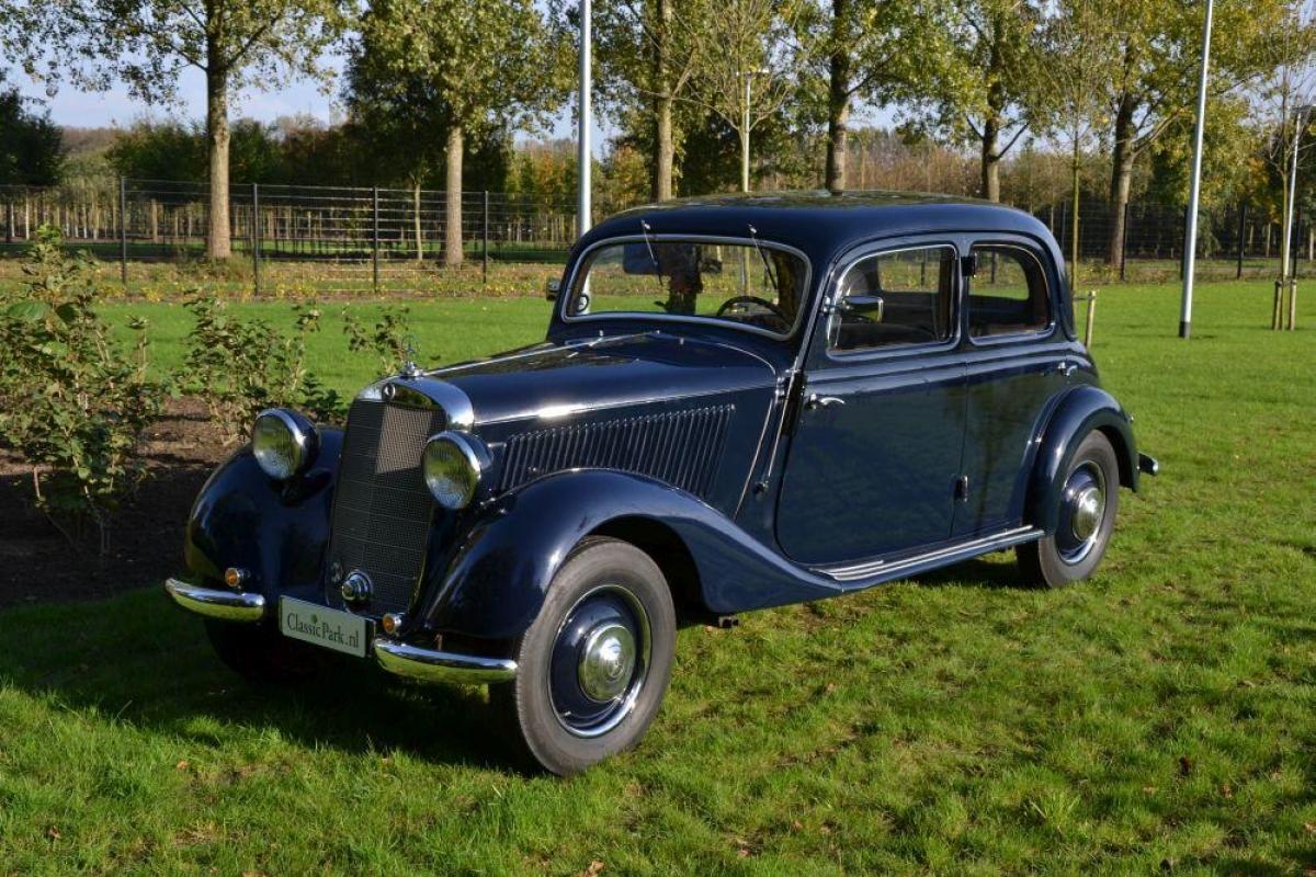 classic park cars mercedes benz 170 v a w136. Black Bedroom Furniture Sets. Home Design Ideas