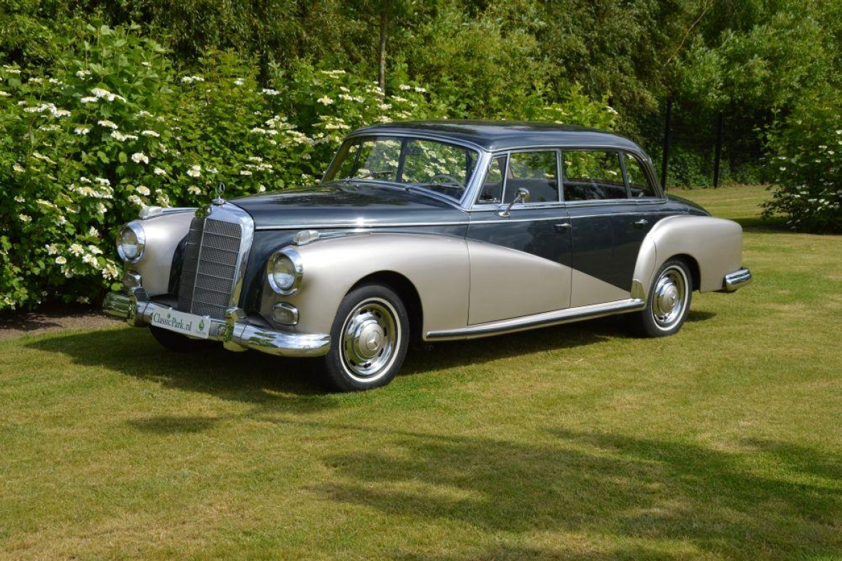 Classic park cars mercedes benz 300 d adenauer limousine for Mercedes benz 300