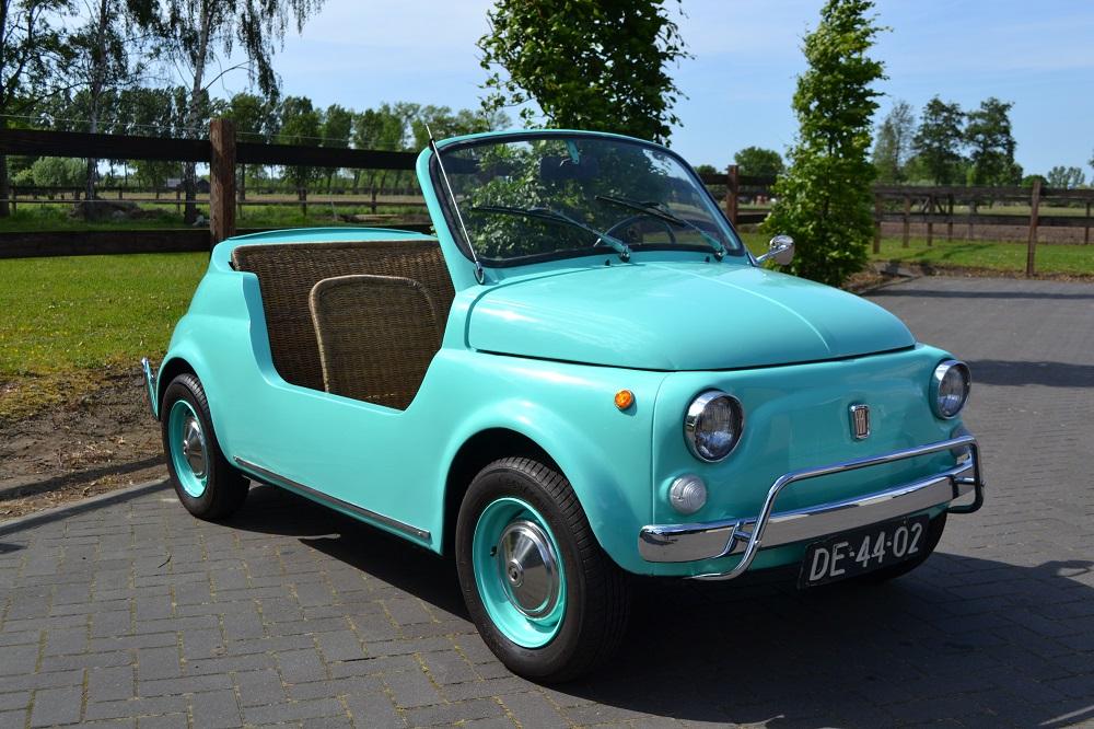 Classic Park Cars Fiat 500 Jolly Replica