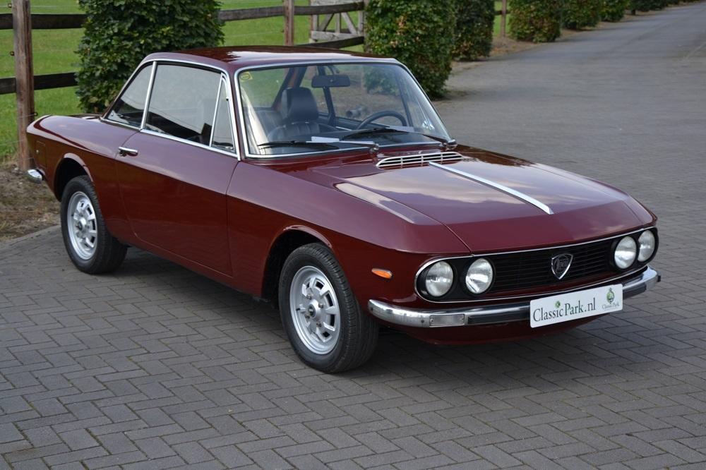 classic park cars | lancia fulvia coupé 1.3 s 2a serie