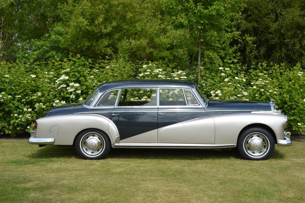 classic park cars mercedes benz 300 d adenauer limousine. Black Bedroom Furniture Sets. Home Design Ideas